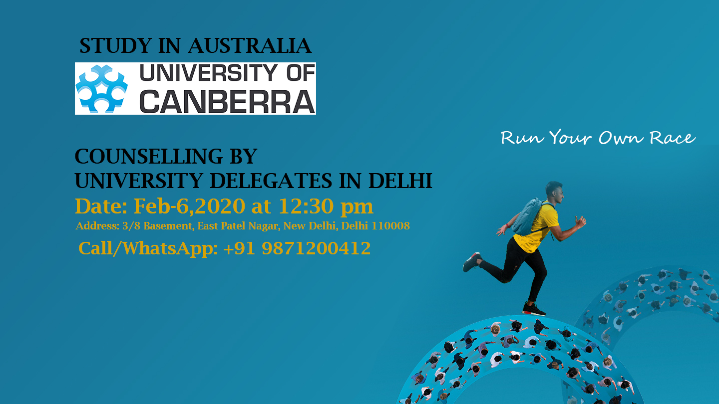University of Canberra Australia Counseling Day in Delhi