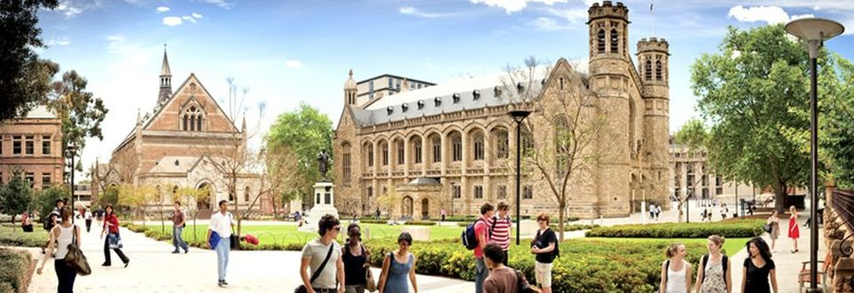The University of Adelaide  Cover Image